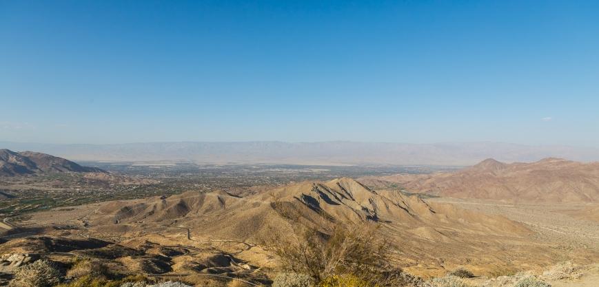 Palm Springs view_