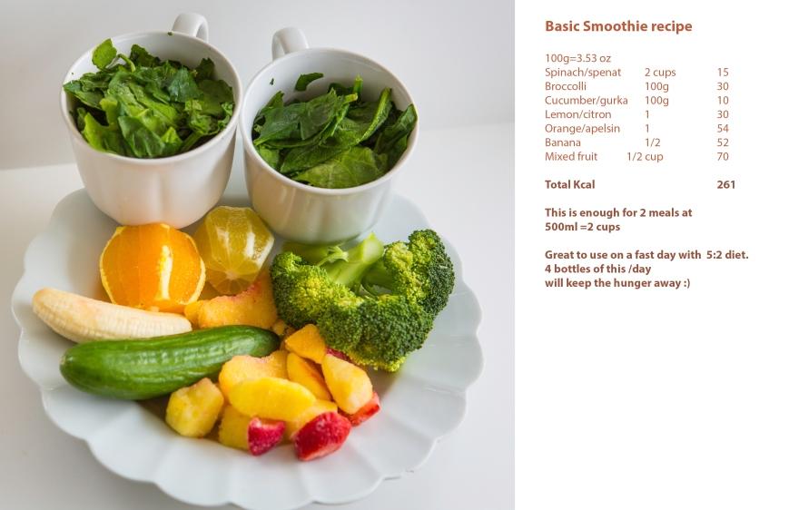 smoothe recipe basic